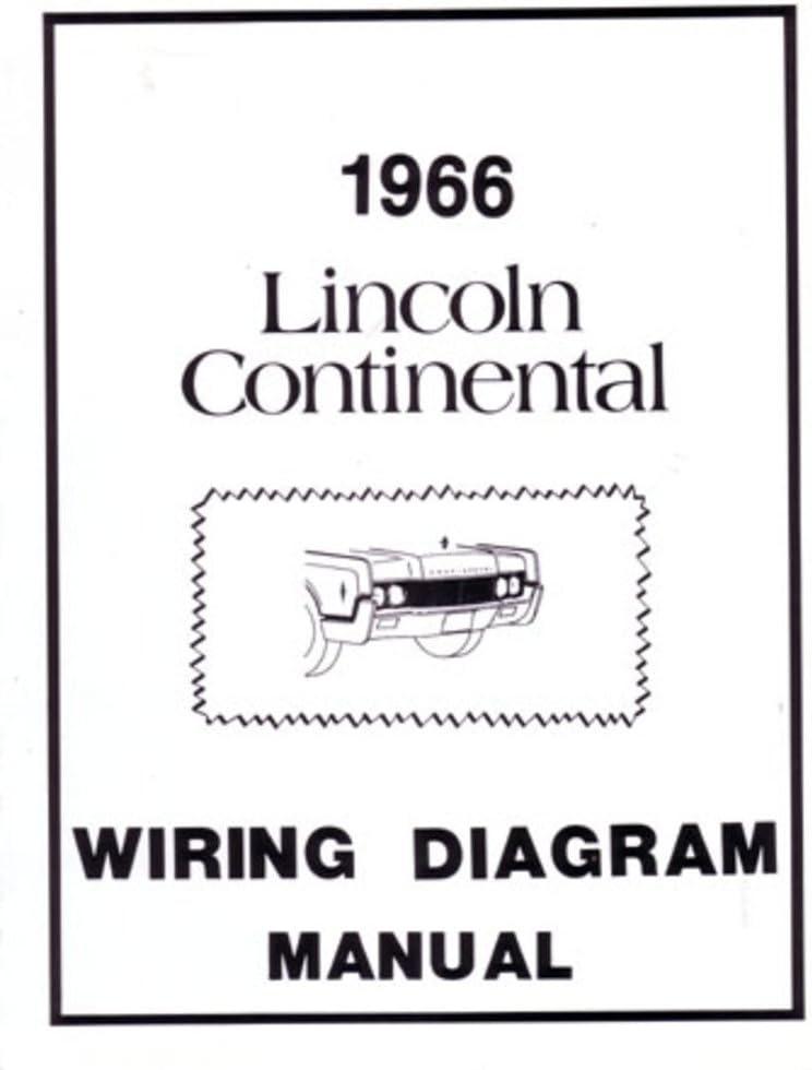 [SCHEMATICS_48ZD]  Amazon.com: bishko automotive literature 1966 Lincoln Electrical Wiring  Diagrams Schematics Drawings Color Codes Factory: Automotive | 1966 Lincoln Wiring Diagram |  | Amazon.com