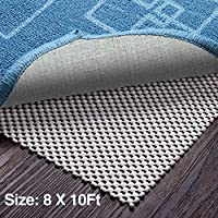 Veken Non-Slip Rug Pad Gripper 2 x 4 Feet Extra Thick Pad for Hard Surface Floors, Keep Your Rugs Safe and in Place