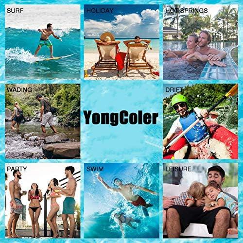 YongColer Casual Mens Swim Trunks Quick Dry US Army Combat Medic Veteran Printed Beach Shorts Summer Boardshorts