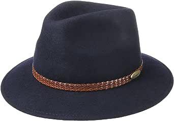 Lierys Sombrero Plegable 4 Colores Hombre - Made in Italy -Sombrero de Fieltro Impermeable y Plegable - Sombrero de Invierno Talla 55-61 cm - Sombrero de Hombre Otoño/Invierno