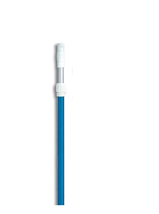 HydroTools by Swimline Adjustable Blue Anodized Step-Up Telescopic Pool Pole