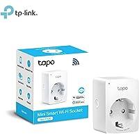 TP-Link Presa Wi-Fi Tapo P100, Smart Plug Compatibile con Alexa e Google Home, Controllo dei Dispositivi Ovunque, Nessun hub esterno necessario (presa schuko)