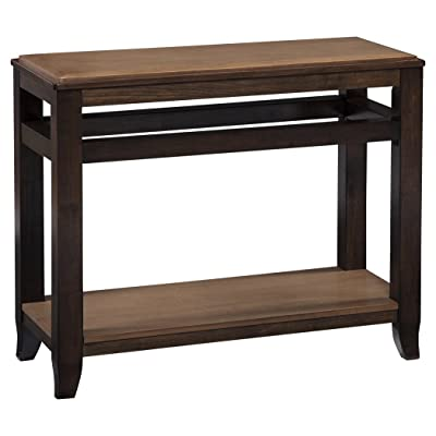 Amazon Com Winsome Genoa Rectangular Console Table With