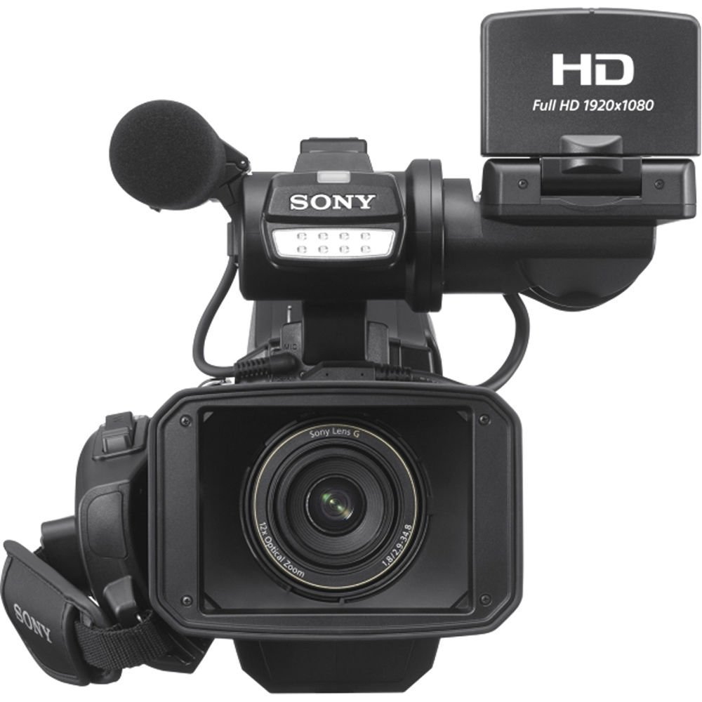 Sony HXR-MC2500 HXRMC2500 Shoulder Mount AVCHD Camcorder with 3-Inch LCD More with 16GB SSE Package Bundle Including: .43x Wide Angle /& 2.2X Telephoto Lenses Black
