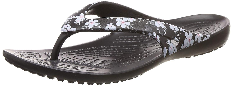 0568a366788 crocs Women s Kadee II Seasonal Flip W Multicolor Flops-W7 (205635-98F-W7)   Buy Online at Low Prices in India - Amazon.in