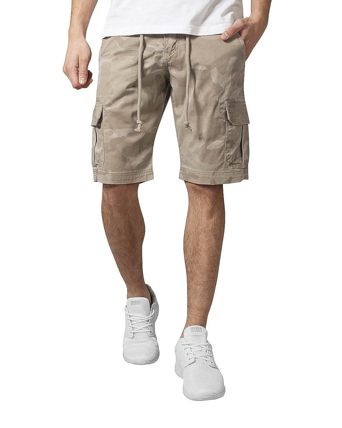 d2729b1fe3 Urban Classic Men's Camo Cargo Shorts: Amazon.co.uk: Clothing