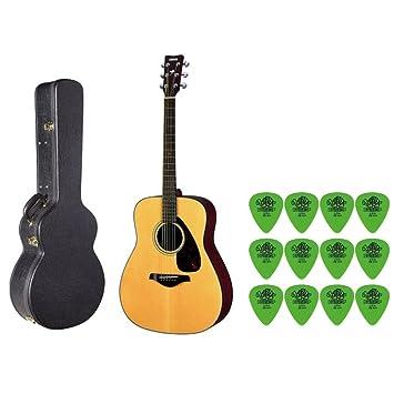 Yamaha fg700s parte superior sólida guitarra acústica con ...