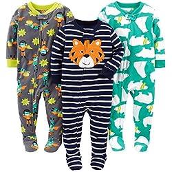 Simple Joys by Carter's - Juego de pijama, Bebitos , Tiger/Polar Bear/Superhero