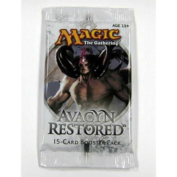 MTG New MTG Magic Gathering M1L Avacyn Restored Fat Pack