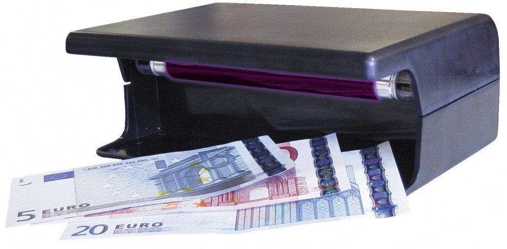 Detector de billetes falsos por ultravioletas