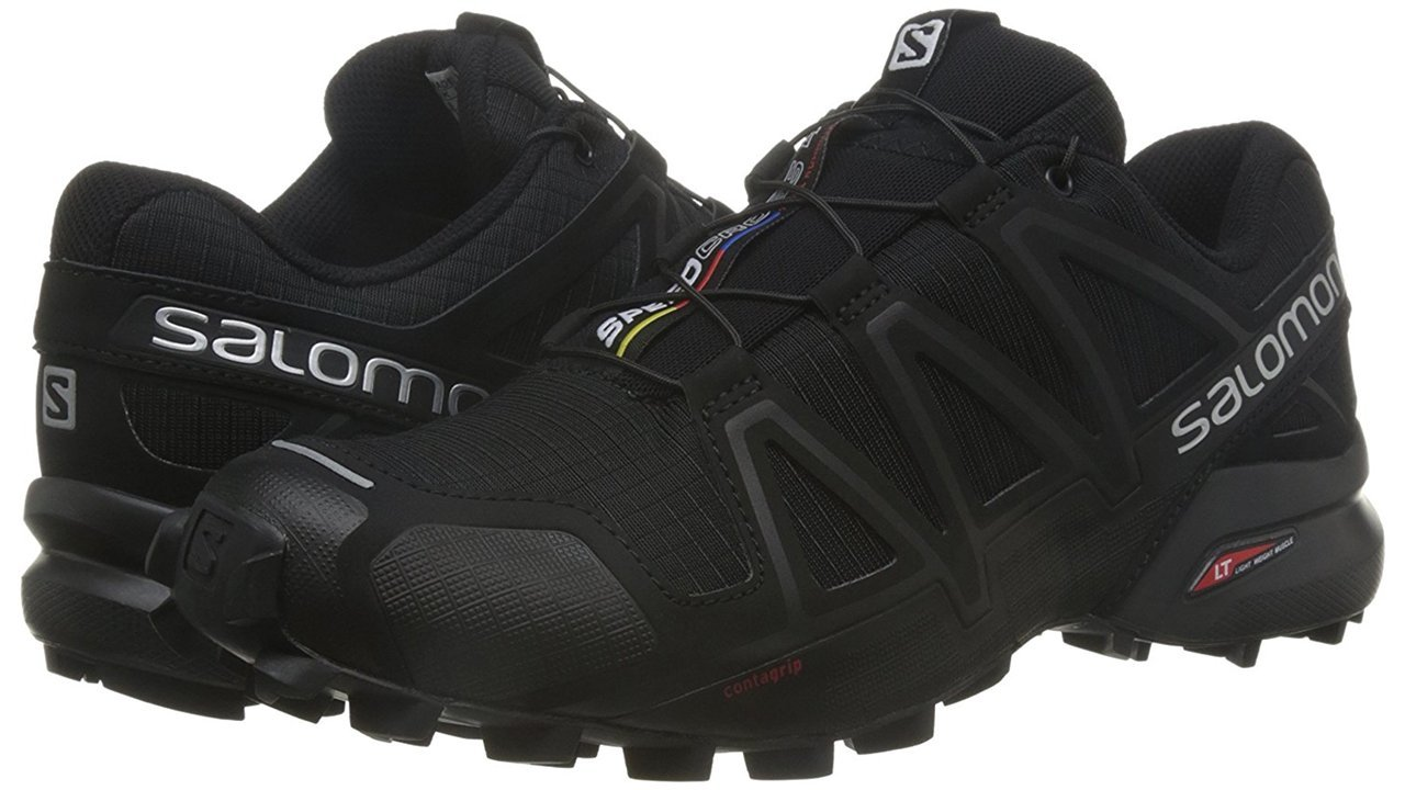 Salomon Men's Speedcross 4 Trail Runner B017SQX6UY 12.5 M US|Black