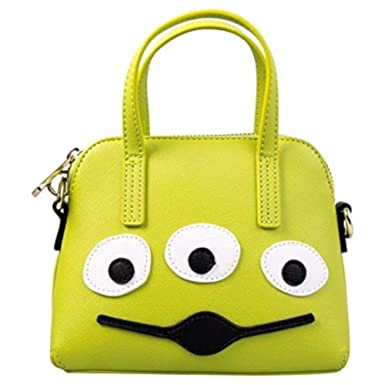 9f1d6b12b8 Amazon.com: Loungefly X Pixar Toy Story Alien Micro Dome Handbag Purse  Clutch: Clothing