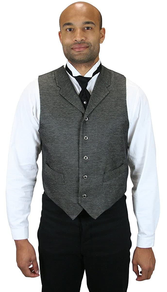 Historical Emporium Men's Textured Dress Vest 004420