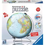 Ravensburger The Earth 540 Piece 3D Jigsaw Puzzle for Kids and Adults - Easy Click Technology Means Pieces Fit Together Perfe
