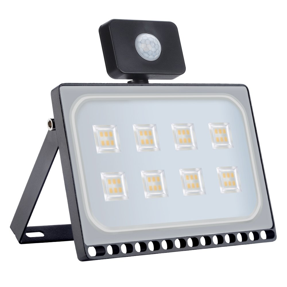 Amazon.com : Missbee 8 Pack 50W LED Motion Sensor Flood ...