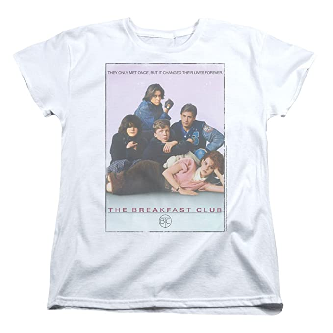 Womens: The Breakfast Club - BC Poster Ladies T-Shirt Size S