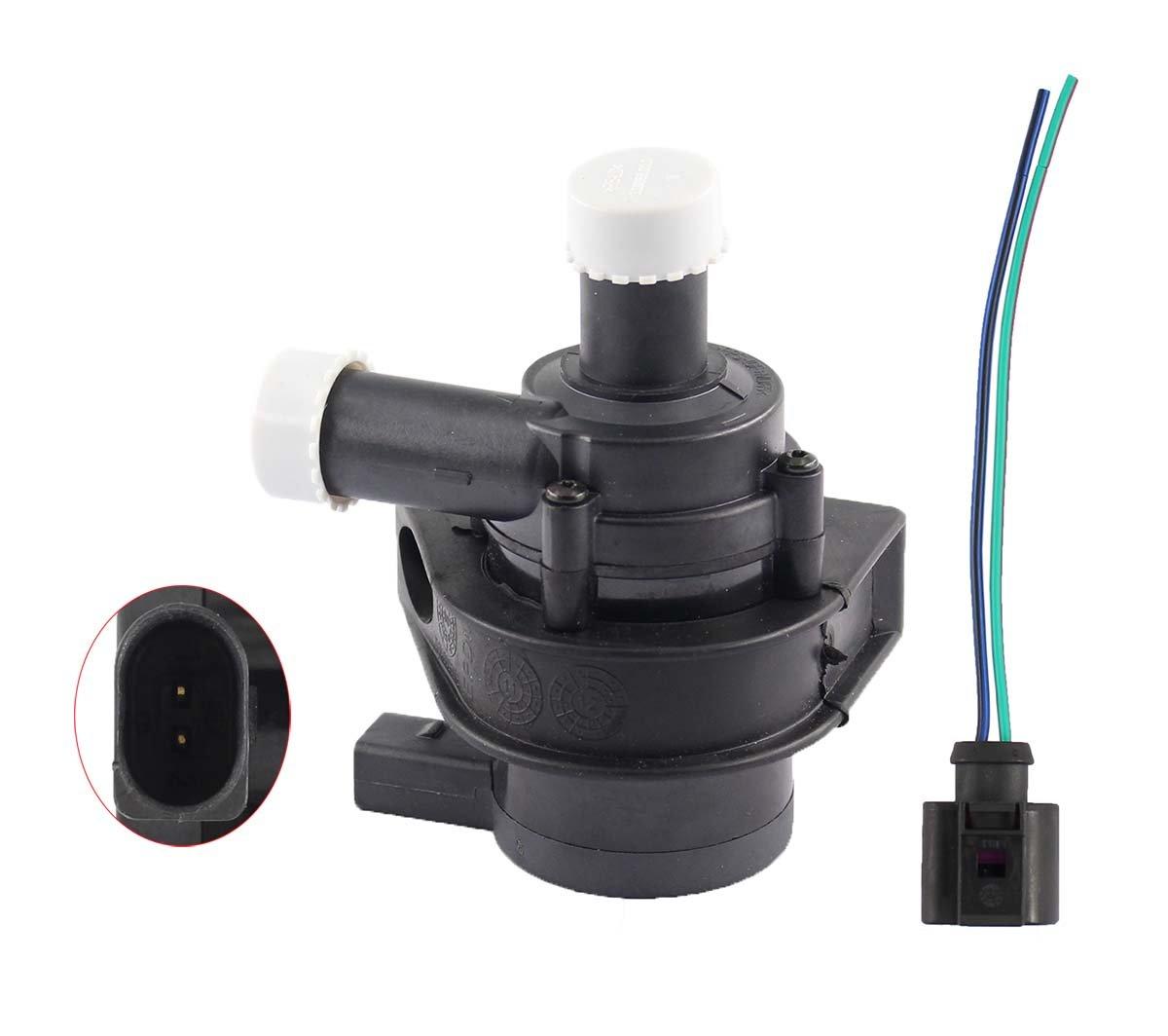 XtremeAmazing New Auxiliary Cooling Water Pump for VW Tiguan Passat Jetta Golf CC GIt Audi A3 TT Q3