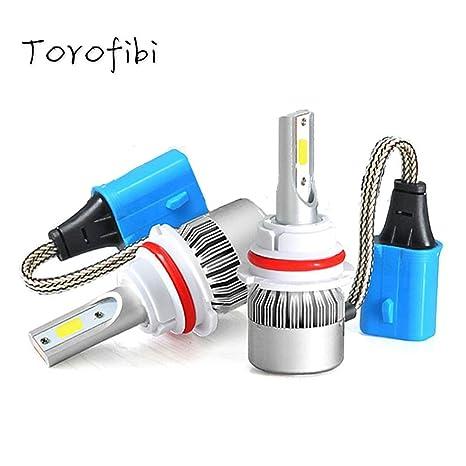 Amazon.com: Torofibi 5202/PSX24W/5200/5201/LED Fog Light Bulbs Kits-Flip COB Chips-60W 7600LM 6000K-(Pack of 2): Automotive