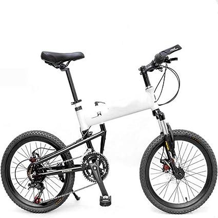 WEYQ Bicicleta Plegable BMX Aviación Marco de aleación de ...