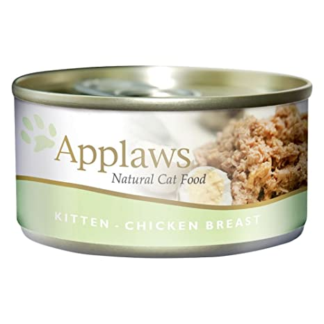 Applaws Comida humeda para Gatos Kitten Lata Pollo 70 gr