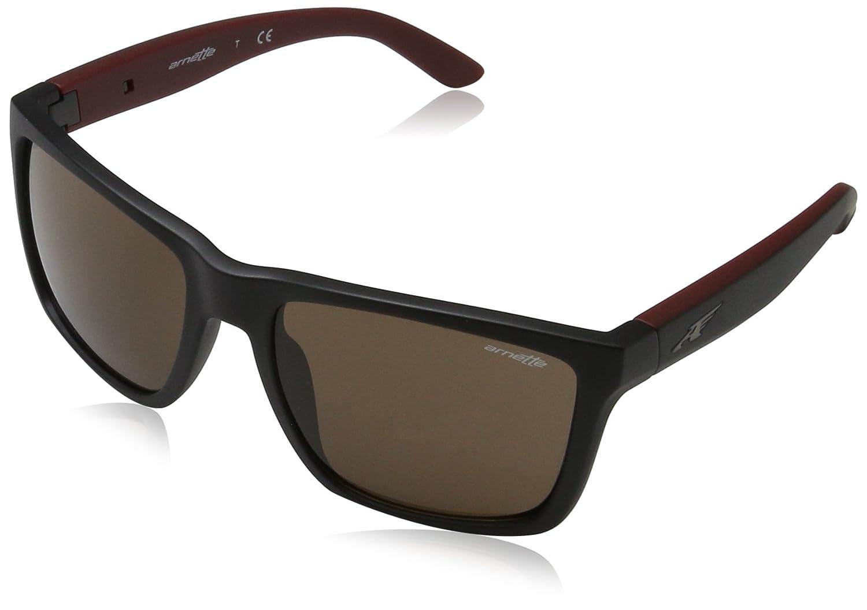 Arnette 0AN4177 243373 59 Gafas de sol, Negro (Matte Black/Brown), Unisex-Adulto