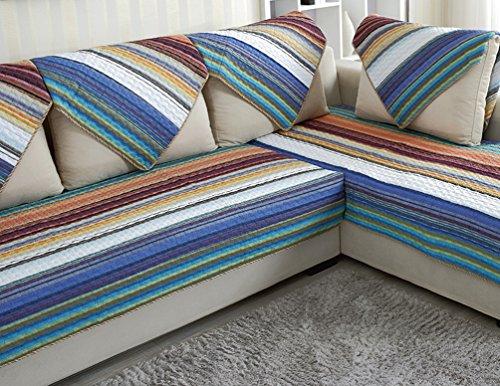 ZebraSmile 1 Piece Various Sizes 100% Cotton Hand Made Stripe Sofa Cushion Cover Decrotive Sofa Pillow For Sofa Chair from ZebraSmile