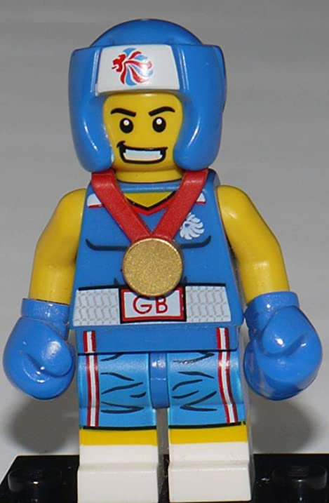 Amazon.com: LEGO Olympic Minifigures: Olympic Boxer: Toys & Games