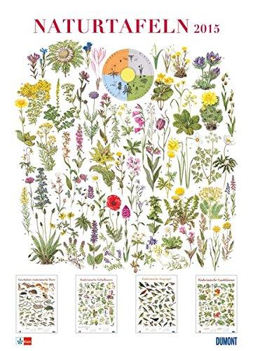 Naturtafeln, Poster-Kalender 2015