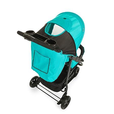 Hauck Citi Neo II - Silla de paseo de 3 ruedas, 0 meses - 15 kg, respaldo reclinable, plegado compacto, plegado con solo una mano, bandeja con ...