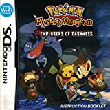 Pokemon Mystery Dungeon - Explorers of Darkness DS Instruction Booklet (Nintendo DS Manual Only) (Nintendo DS Manual)