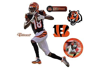 cd4122393 Amazon.com : FATHEAD NFL Cincinnati Bengals AJ Green Teammate ...