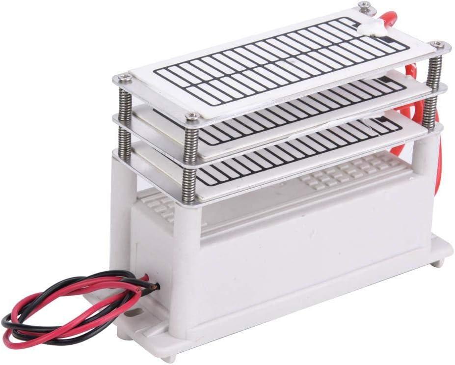 Ozonizzatore di purificatore daria generatore di ozono 18 g piastra di ceramica deodorante e sterilizzatore per la casa 110 V//220 V generatore di ozono integrato