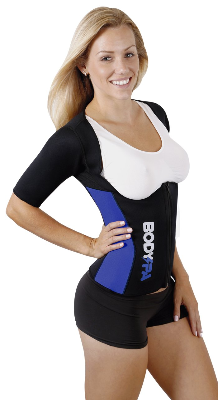 Célèbre Amazon.com : Body SPA Light Neoprene Vest with Sleeves Exercise  XP05