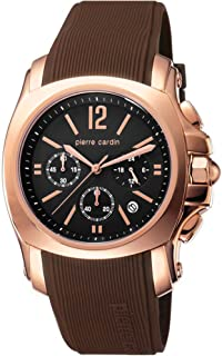 Pierre Cardin Men s Quartz Watch Chronograph Display and Rubber Strap Swiss  Made 5d413fc098