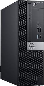 Dell Optiplex 7060 Small Form Desktop, Hexa Core i7 8700 3.2Ghz, 16GB DDR4, 1TB NVMe SSD, USB Type-C, DVD-RW, Windows 10 (Renewed)