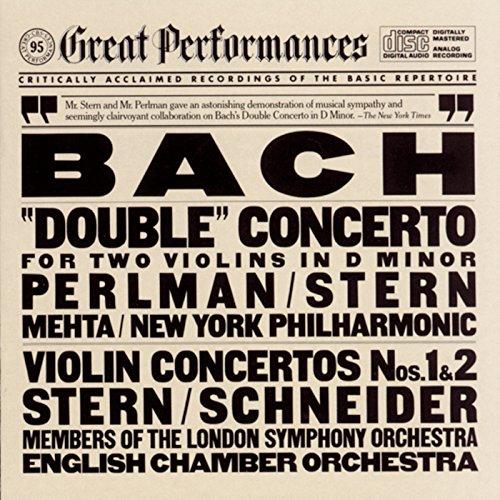 Bach: Concerto for 2 Violins in D Minor, BWV 1043 & Violin Concertos Nos. 1 & 2 (Live)