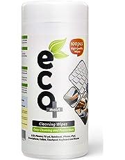 Ecomoist - Toallitas de limpieza LCD, LED, plasma, TV, PC, ordenador