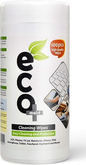 Ecomoist Toallitas de limpieza LCD LED Plasma TV PC Portátil ...