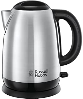 Russell Hobbs 23912-70/RH Adventure - Hervidor de acero inoxidable pulido, 1.7