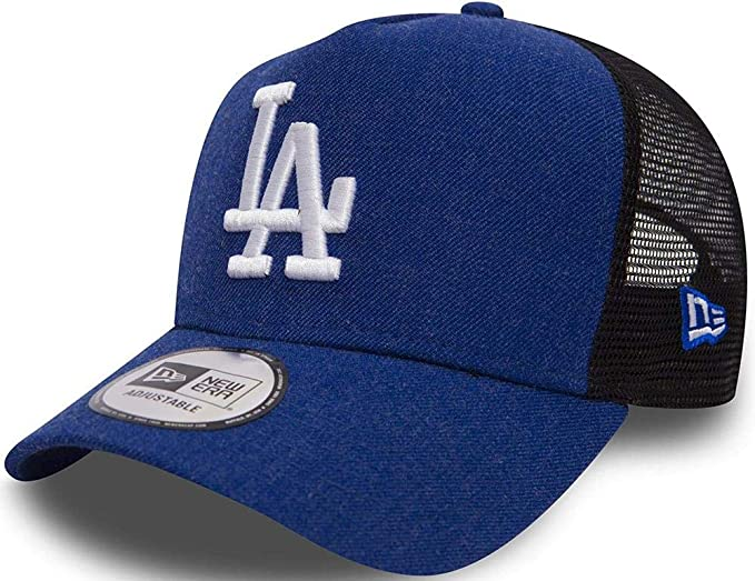 fac943a77830 New Era Seas Heather Trucker LA Dodgers snapback  Amazon.fr ...