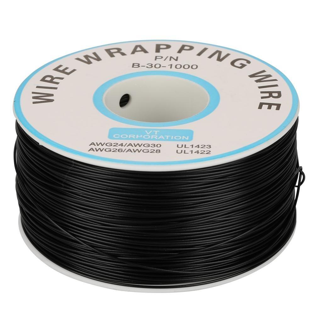Rouleau de c/âble C/âble /électrique Fil /électrique 2.5mm/² 200m 30AWG 80℃ C/âble de fil disolation de PVC Fil /électrique /à un noyau Fil de cuivre plaqu/é /étain Bleu