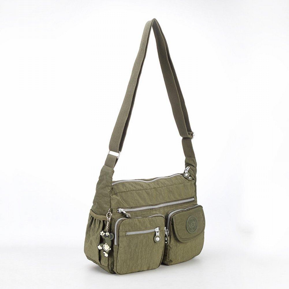 Bag Messenger Ultraleichte Damen Tasche im Trend Der Frau Messenger Bag , Armeegrün