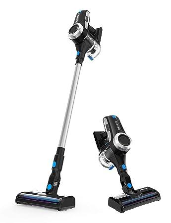Dcenta Cordless Vacuum Cleaner, Stick Vacuum Cleaner 20KPa with 350W  Digital Motor, 2 in 1 Handheld Vacuum for Deep Clean and Pet Owner