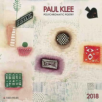 Calendario 2018 artista Paul Klee Polychrome - pintor alemán ...