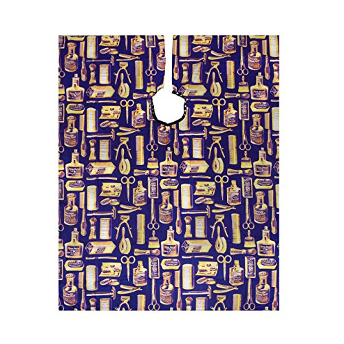 Betty Dain Vintage Gold Barber Cape, Gold/Blue from Betty Dain