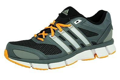 Adidas QUESTAR CUSHION 2 M Chaussures de Course Running Homme Gris et Orange Torsion System MiCoach