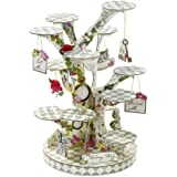 Talking Tables Truly Alice in Wonderland Treat Stand for a Tea Party, Wedding or Birthday, Multicolor