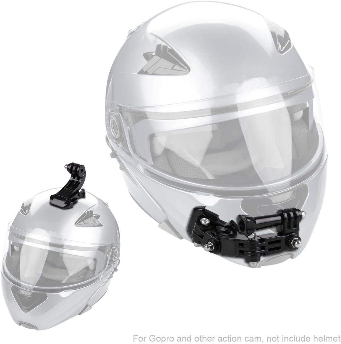 Adhesive Helmet Front Chin Mount Helm Halterung für Gopro Hero 6 5 4 3 Ersatz