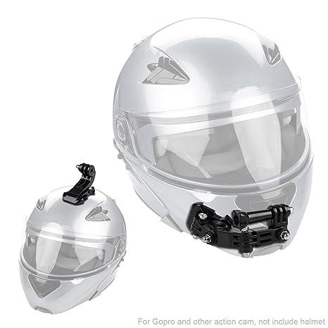 Hootracker Helmet Kit de Montage de Casque pour Menton pour GoPro Hero 5 6 Action  Camera 68ac8a3623d7