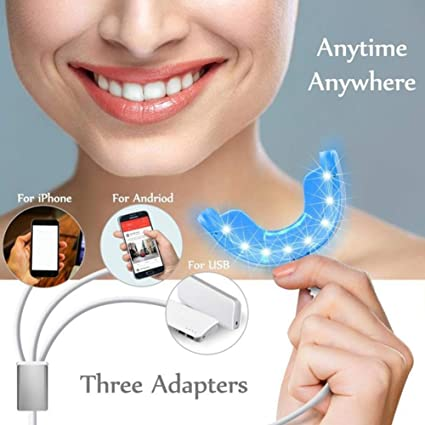 Amazon Com 16 Led Blue Light Teeth Whitening Light Teeth Whitener